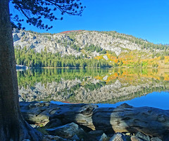 Autumn Sunrise, Lake George, Sierra Nevada, CA 2016