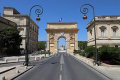 Montpellier, Arc de Triomphe - Photo of Montpellier