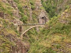 Le pont de la Mariée - Photo of Villeneuve-d'Entraunes
