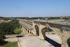 Montpellier, Römische Wasserleitung