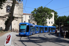 TAM Tram 2019, Montpellier - Photo of Saint-Aunès