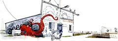 Locmiquélic - Street-art au port Sainte-Catherine