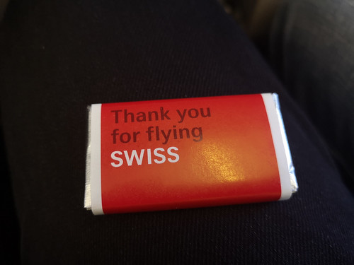 Thank you for flying Swiss