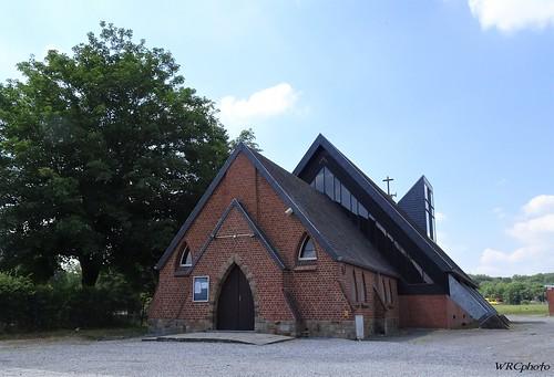 Eglise Notre dame de Grâce, Fontaine-L'Evêque, Belgique.