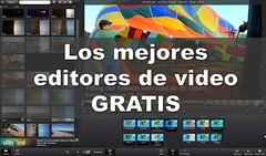 Top 15 – Mejores editores de vídeo gratuitos