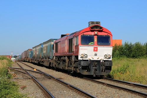 Crossrail DE-6310 Griet 92 80 1266 280-7 D-XRAIL Bierset 28-06-2019