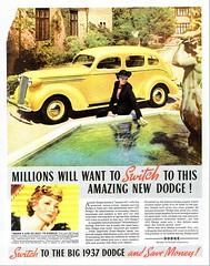 1937 Dodge Four-Door Touring Sedan
