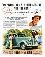 1936 Dodge Four-Door Touring Sedan