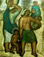 Saleswoman (1948) - Querubim Lapa )1925-2016)