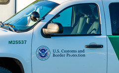 U.S. Customs and Border Protection Squad Car - Border Patrol