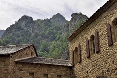 _DSC4807 : abbaye St Martin du Canigou - Photo of Escaro