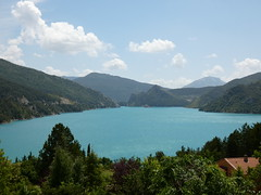 Lac de Castillon - Photo of Moriez