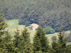 Le gîte vu depuis le Mont Lachens - Photo of Séranon
