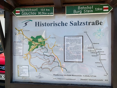 Historische Salzstraße