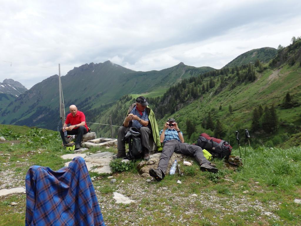 2019-06-20 Röstigraben 18. Etappe L'Etivaz - Col du Pillon