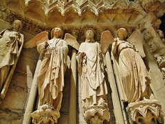 Reims Cathedral, Reims, Grand Est, France.