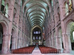 Basilica St Remi, Reims, Grand Est, France.