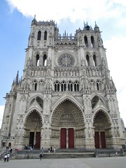 Amiens Cathedral, Amiens, Hauts-de-France, France.