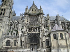 Senlis Cathedral, Senlis, Hauts-de-France, France.