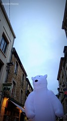 A bear in the street - Photo of Damigny