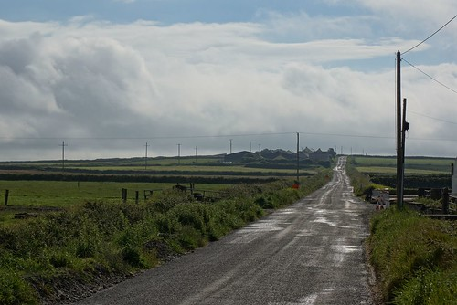 Cross (close to Loop Head) - Irish Roads