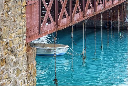 boat moored  ...