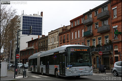Heuliez Bus GX 437 hybrid - Tisséo Voyageurs / Tisséo n°1671 - Photo of Toulouse