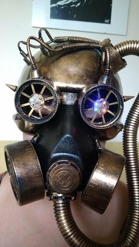 New steampunk gasmask