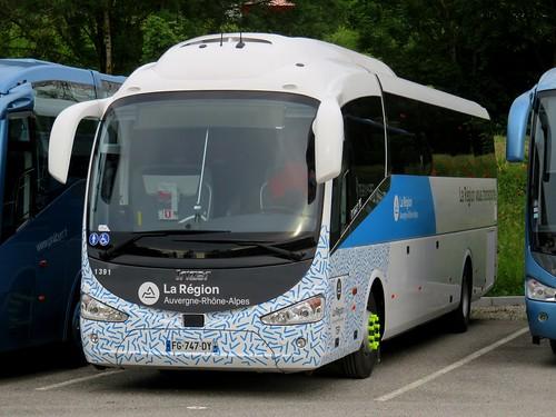 Irizar i6 n°1391 - TER Auvergne-Rhône-Alpes (Villaz)