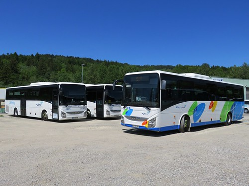 Iveco Crossway n°1239, 1240 & 1237 - Sibra (Villaz)