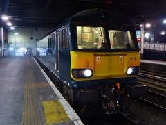 92018 to London Euston