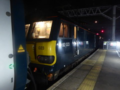 92023 at London Euston