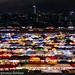 Train market at night