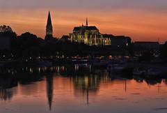 Soir de canicule. Auxerre - Photo of Augy