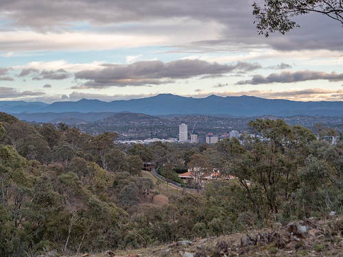 Red Hill looking towards Woden, Canberra