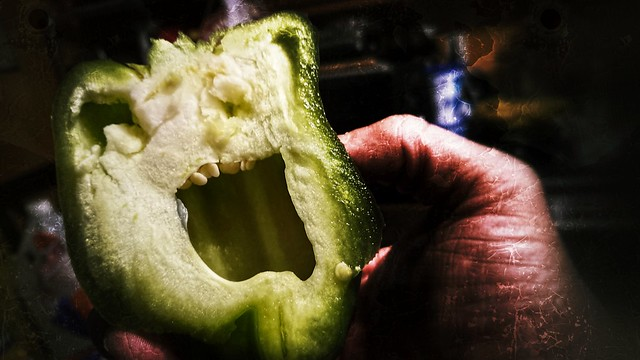 The Green Pepper is ANGRY!
