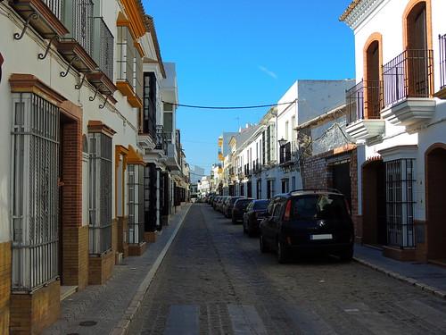 <Calle de la Altana> La Puebla de Cazalla(Sevilla)