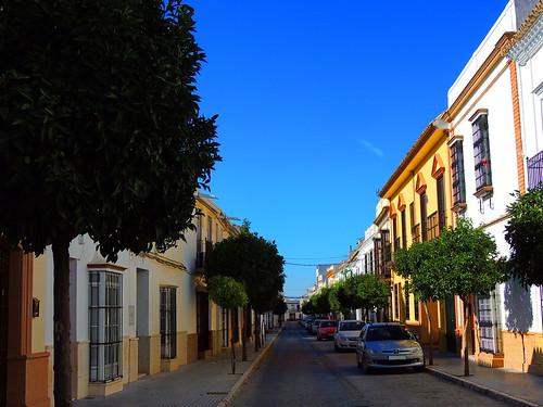 <Calle Victória> La Puebla de Cazalla(Sevilla)