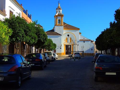 <Plaza del Convento> La Puebla de Cazalla(Sevilla)