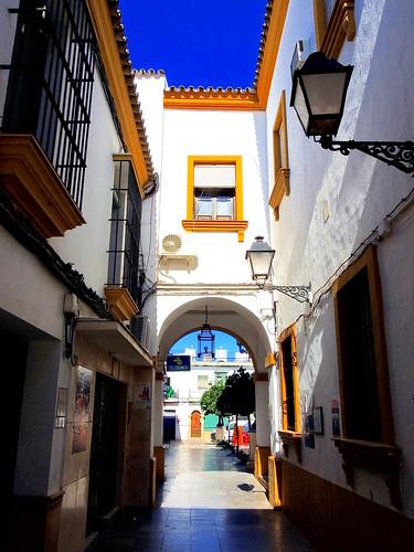 <Arco del Ayuntamiento> La Puebla de Cazalla(Sevilla)