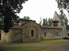 Église landaise (France) / Kirche in den Landes (Frankreich) / Ландская церковь (Франция) - Photo of Mano