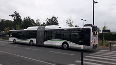 Iveco Bus Urbanway 18 GNV n°662 sur la ligne 23