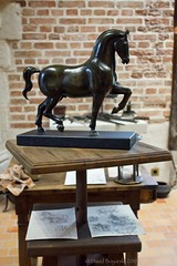 Bronze horse project for Francois I