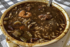 Gumbo goodness from Flying Fish, Garland