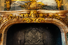Huge and ornate fireplace in the Versailles Palace, France-28a - Photo of Châteaufort