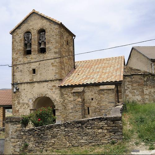 San Martín. LATAS. SERRABLO. ARAGÓN. SPAIN.