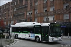Heuliez Bus GX 327 GNV - Semitan (Société d'Économie MIxte des Transports en commun de l'Agglomération Nantaise) / TAN (Transports en commun de l'Agglomération Nantaise) n°584 - Photo of Nantes
