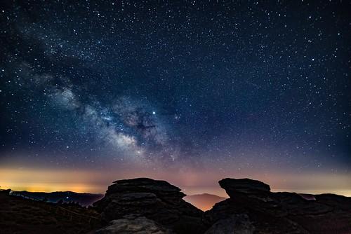 Milchstraße über der Sierra Nevada