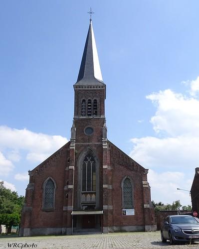 Eglise st Barthélémy. Souvret, Belgique.