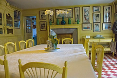 Yellow dining room, Giverny